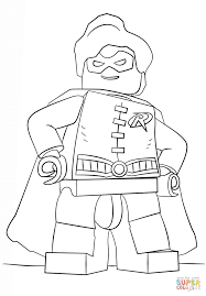 Small Picture Lego Robin coloring page Free Printable Coloring Pages