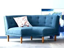 charming small curved sofa small curved sofa mid century modern design everything home couch sectional s