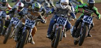 american flat track motorcycle racing