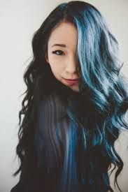 Subtle Blue Highlights 40 Blue Ombre Hair Ideas Hairstyles Update