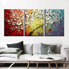 3 piece wall art abstract