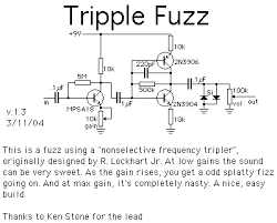 Eric Johnson Pedals the tripple fuzz is a really nice sounding circuit build one up and see for yourself incidentally the lovepedal karl isn't the only commercial pedal that