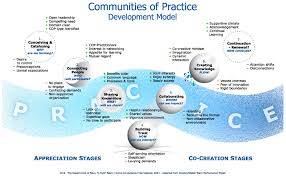 community development data viz community  community of practice development model