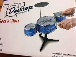 mini desk top drum kit