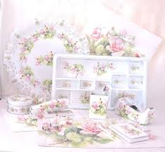 shabby chic office accessories. Lovely Shabby Chic Office And Desk Accessories ~. I\u0027m Sure They Are From Victoria\u0027s Garden Cottage ~ C