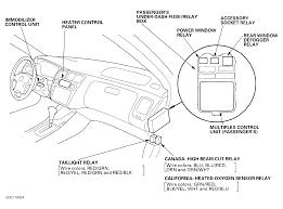 1998 honda accord dash lights and tail lights ( not brake lights 2009 honda accord radio fuse location at 2009 Honda Accord Fuse Box
