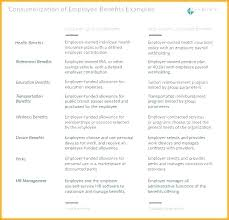 Compensation Package Template Employee Benefits Plan