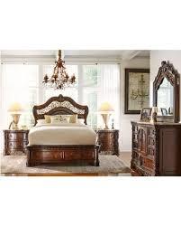 Handly Manor Pecan 5 Pc King Panel Bedroom