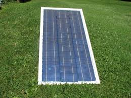 picture of using solar cells to make glass frame diy solar panel