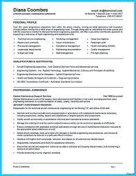 Maintenance Engineer Resume Sample Residential Electrician Resume