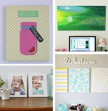 ... Delightful Ideas Canvas Wall Art 30 Tutorials ...