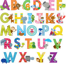 Phonics Alphabet Chart Simple Teacher Stickers 48 Animal Alphabet Phonics Letter Stickers