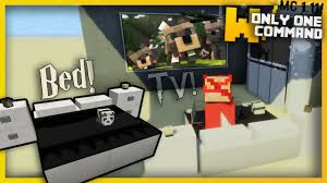 Minecraft Modern Bedroom Minecraft Modern Bedroom Furniture With Only Two Command Blocks