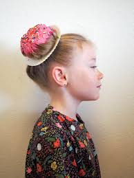 Crazy Hair Style little hiccups donut hair diy 5675 by wearticles.com