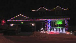 Crazy Frog Jingle Bells Fort Mcmurray Christmas Lights 2012