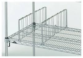 metro super adjule super erecta wire shelving accessory 8in shelf dividers