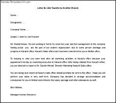 Letter Of Intent Format For Job Transfer Lezincdc Com