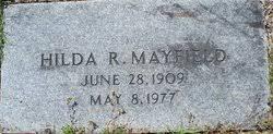 Hilda Robertson Mayfield (1909-1977) - Find A Grave Memorial