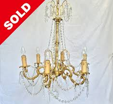 louis xv medium vintage chandelier