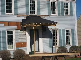 how to build a front doorHow To Build A Front Door Overhang  thesouvlakihousecom