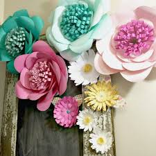 How To Create A Flower With Paper How To Make Huge Paper Flowers