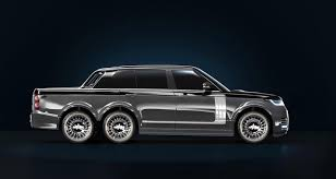 Range Rover 6x6 Pickup Truck Is a Superyacht's Terrestrial ...