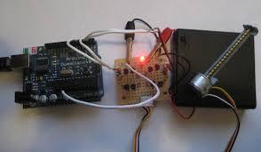 driving cdrom stepper motor arduino cnc driving cdrom stepper motor arduino