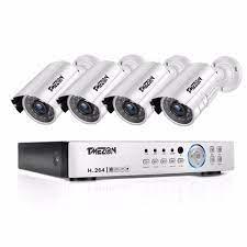 TMEZON 4CH CCTV Sistemi 4 PCS 720 P Açık Hava Güvenlik Kamera 4CH 1080 P  DVR Gündüz/Gece Kiti Video Gözetim Sistemi Kategoride Video Gözetim.  Sellers-express.news