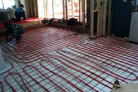 to install heated floors under tile radiant heat problems cold floor how flooring