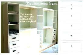 walk in closet organizer plans.  Plans Built In Closet Shelves Building Organizer Plans S Walk   For Walk In Closet Organizer Plans K