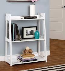 engineered wood 3 tier ladder