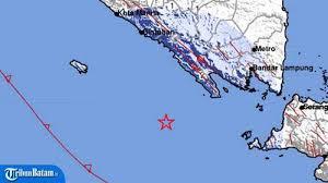 Gempa bali berkekuatan 5,4 sr terjadi pada pagi hari pukul 05:48:40 wib. Gempa Hari Ini Gempa 4 9 Sr Guncang Pesisir Barat Lampung Jumat 5 6 Pukul 11 04 Simak Info Bmkg Tribun Batam