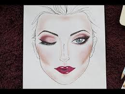 Makeup Face Chart Using Inexpensive Products Mua Mamta