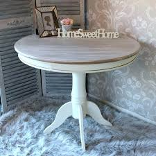 gray stained dining table grey wood round extraordinary kitchen home ideas 5