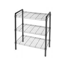innovative small wire shelving black wire shelving unit in free standing shelves