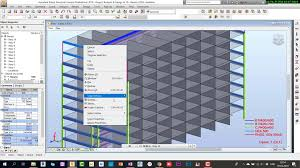 Design Of Rc Structures Robot Structural Analysis Professional 2019 Analysis