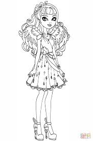 Small Picture Ever After High Cupid Ever After High coloring page Free