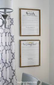 make your own rustic farmhouse frames even