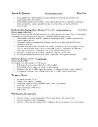 Sample Resume Librarian Peer Mentor Resume Librarian Library Job ...