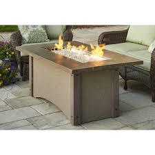OGR  Outdoor GreatRoom Company Pine Ridge Fire Table RectangularOutdoor Great Room