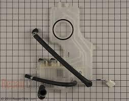 lg dishwasher parts. water inlet - part # 1267810 mfg 4975dd1001a lg dishwasher parts r