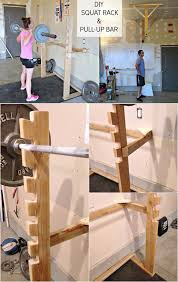 and then make marks according to your needs drill the holes and create cradles for the bars so that you could accommodate the your weight bars as well