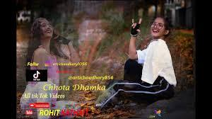 chhotadhmakatiktokvideos arati chaudhary - YouTube