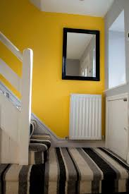 hallway finally. yellow hallway finally t