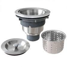 Gzila Kitchen Sink Strainer With Removable Deep Waste Basket