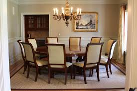 Dining Room Table For 10 Accommodate The Crowd With Round Dining Room Tables For 10