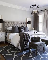 Black, white and every shade in between! Very cool bedroom by ...