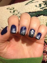 Nativity Nail Designs Nativity Nail Art Polish Me Snazzy