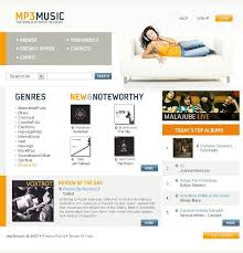 Music Website Templates Awesome Portal Music Website Templates By Hugo MP24 Store Pinterest