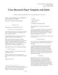 Research Document Template Research Report Template College Paper Maggi Locustdesign Co